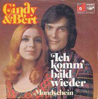 Cover Cindy & Bert - Ich komm' bald wieder