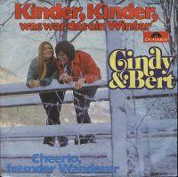Cover Cindy & Bert - Kinder, Kinder, was war das ein Winter