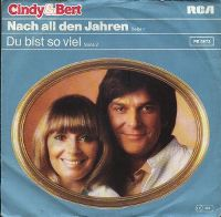Cover Cindy & Bert - Nach all den Jahren