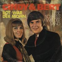 Cover Cindy & Bert - Rot war der Mohn