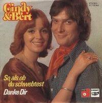 Cover Cindy & Bert - So, als ob du schwebtest