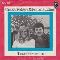 Cover Ciska Peters & Ronnie Tober - Naar de kermis