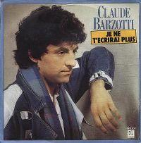 Cover Claude Barzotti - Je ne t'écrirai plus