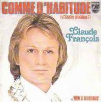Cover Claude François - Comme d'habitude