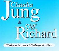 Cover Claudia Jung & Cliff Richard - Weihnachtszeit - Mistletoe & Wine