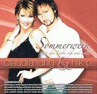 Cover Claudia Jung & Nik P. - Sommerwein - wie die Liebe süß und wild