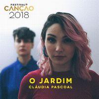 Cover Cláudia Pascoal - O jardim