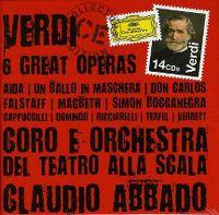 Cover Claudio Abbado - 6 Great Operas - Verdi