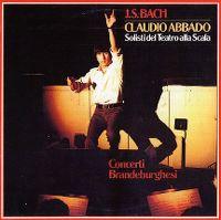 Cover Claudio Abbado - J.S. Bach