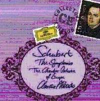 Cover Claudio Abbado - The Symphonies - Schubert