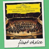 Cover Claudio Abbado / Berliner Philharmoniker - Verdi: Ouvertüren & Vospiele