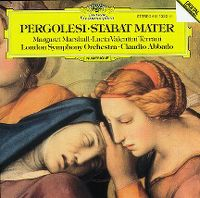 Cover Claudio Abbado / London Symphony Orchestra - Pergolesi: Stabat Mater
