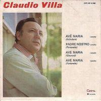 Cover Claudio Villa - Ave Maria di Schubert