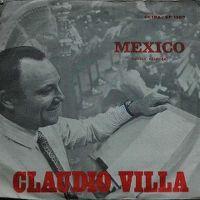 Cover Claudio Villa - Mexico