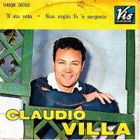 Cover Claudio Villa - N'ata vota