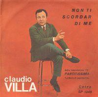 Cover Claudio Villa - Non ti scordar di me