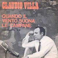 Cover Claudio Villa - Quando il vento suona le campane