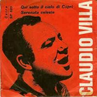 Cover Claudio Villa - Qui sotto il cielo di capri