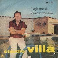 Cover Claudio Villa - Ti voglio come sei