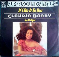 Cover Claudja Barry - If I Do It To You