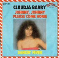 Cover Claudja Barry - Johnny, Johnny Please Come Home