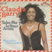 Cover Claudja Barry - Take Me In Your Arms