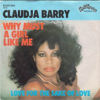 Cover Claudja Barry - Why Must A Girl Like Me