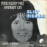 Cover Cliff Richard - (You Keep Me) Hanging On