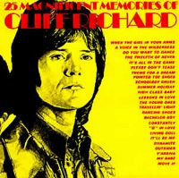 Cover Cliff Richard - 25 Magnificent Memories Of Cliff Richard