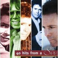 Cover Cliff Richard - 40 Hits From A Sir
