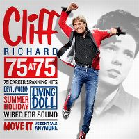 Cover Cliff Richard - 75 At 75 - 75 Career Spanning Hits