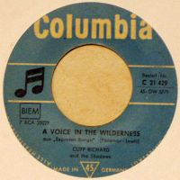 Cover Cliff Richard - A Voice In The Wilderness