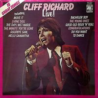 Cover Cliff Richard - Cliff Richard Live!