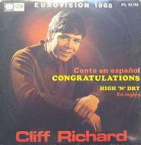 Cover Cliff Richard - Congratulations (español)