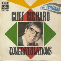 Cover Cliff Richard - Congratulations (In Italiano)