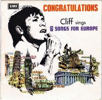 Cover Cliff Richard - Congratulations: Cliff Sings 6 Songs For Europe