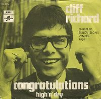Cover Cliff Richard - Congratulations