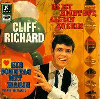Cover Cliff Richard - Es ist nicht gut, allein zu sein