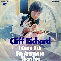 Cover Cliff Richard - I Can't Ask For Anymore Than You