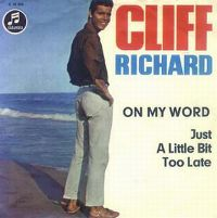 Cover Cliff Richard - On My Word