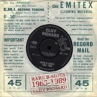 Cover Cliff Richard - Rare B-Sides 1963-1989