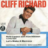 Cover Cliff Richard - Rote Lippen soll man küssen