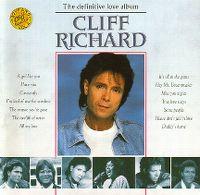Cover Cliff Richard - The Definitive Love Album