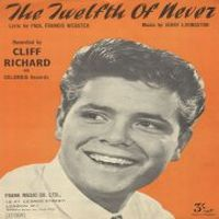 Cover Cliff Richard - The Twelfth Of Never