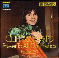 Cover Cliff Richard - Todo el poder a los amigos