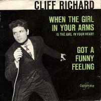 Cover Cliff Richard - When The Girl In Your Arms Is The Girl In Your Heart