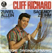 Cover Cliff Richard - Zuviel allein