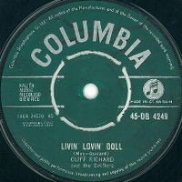 Cover Cliff Richard & The Drifters - Livin' Lovin' Doll