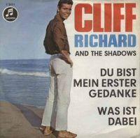 Cover Cliff Richard & The Shadows - Du bist mein erster Gedanke