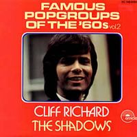 Cover Cliff Richard & The Shadows - Famous Popgroups Of The '60s (Vol. 2)